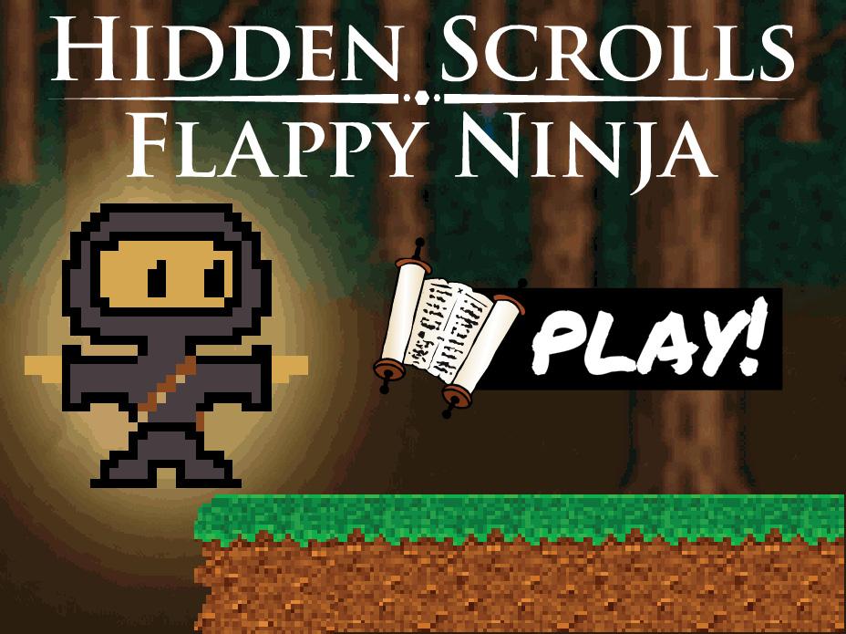 PixylWorld | Hidden Scrolls - Flappy Ninja | Indie Games | Fort